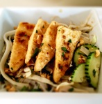 Tofu Noodle Bowl