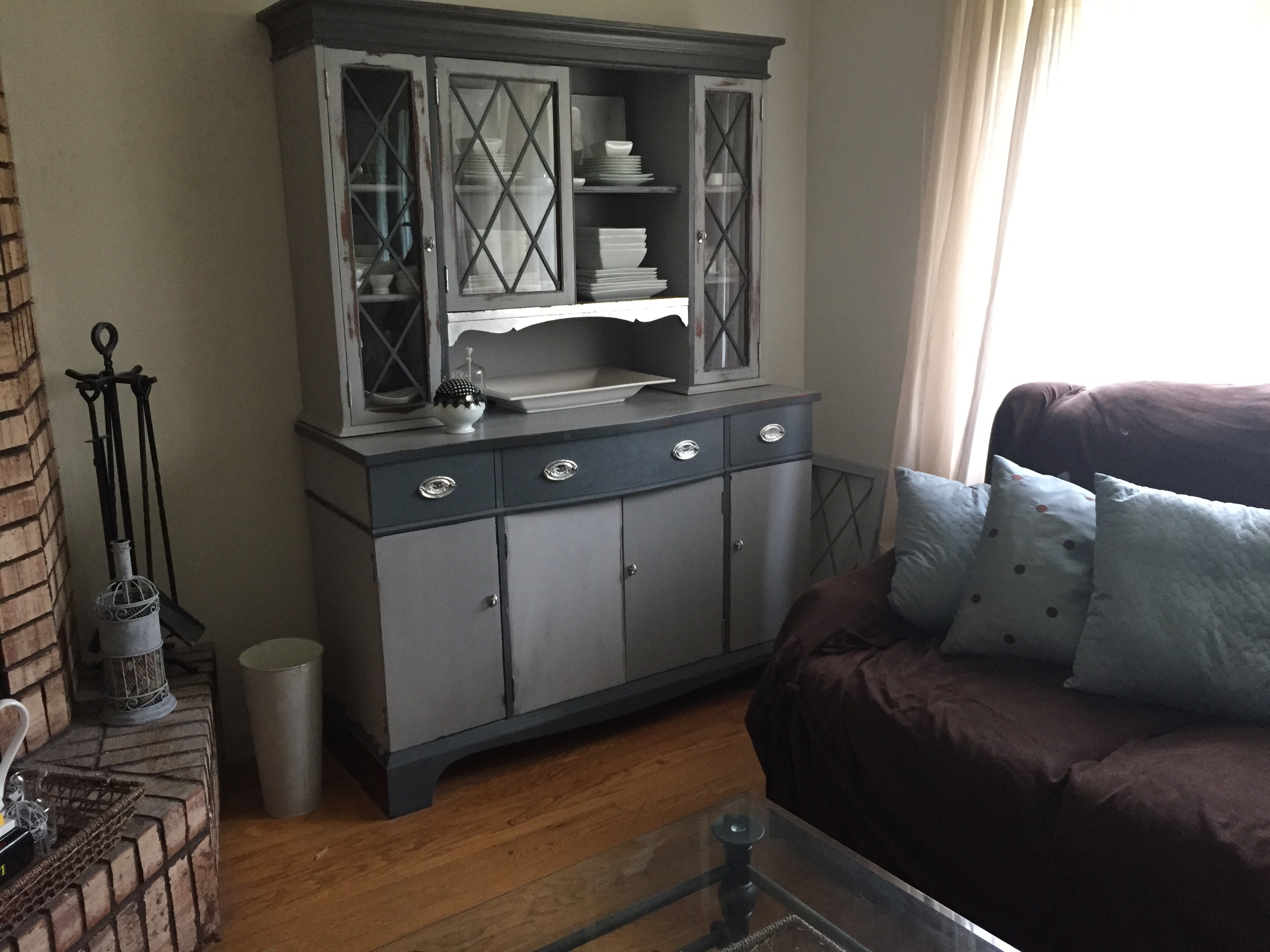 Thumb Through 614730 DIY China Cabinet Makeover Baseball Mom Rules With 6218 Reliable
